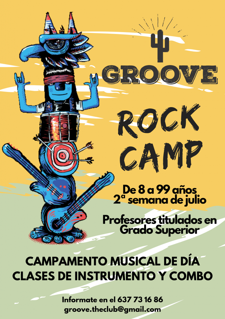 Groove Rock Camp